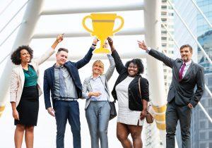 Aumentar a produtividade da sua equipe - Equipe motivada por meta